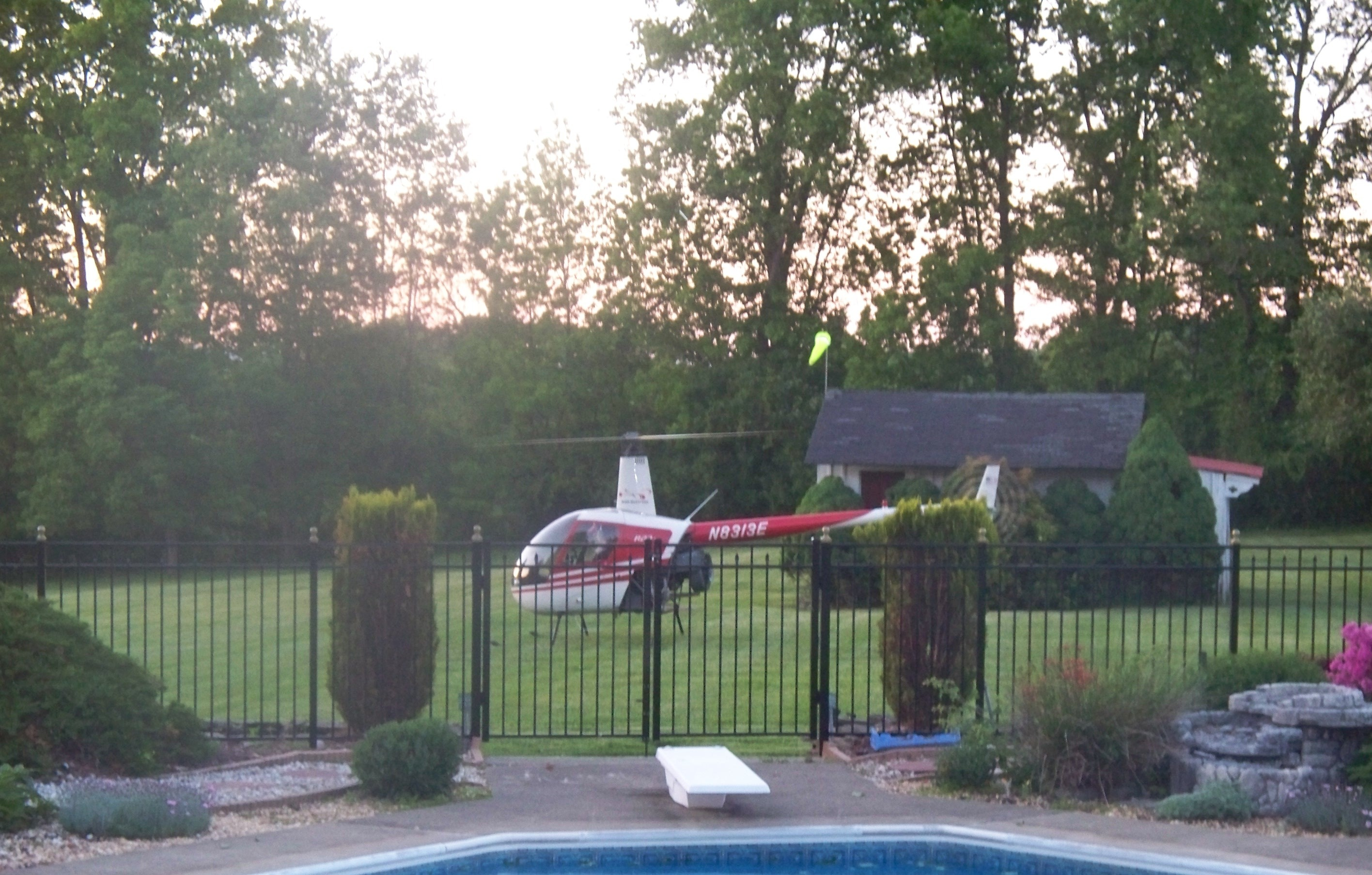 Land A Helicopter Seriously The Dominion House Bed And